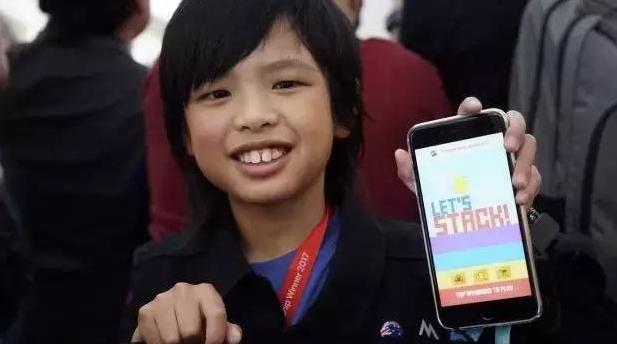6岁开始学编程,10岁开发5款APP,这个小男孩要逆天!-少儿编程教育网