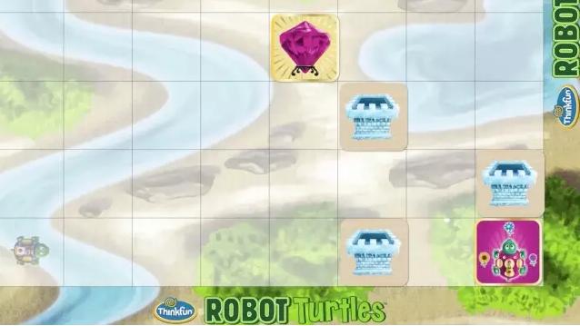 和孩子一起编程的少儿编程启蒙桌游「编程乌龟」最强攻略!-少儿编程教育网