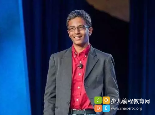 13岁少年编程打造出造福4500万人的发明,拿到了英特尔的投资!-少儿编程教育网