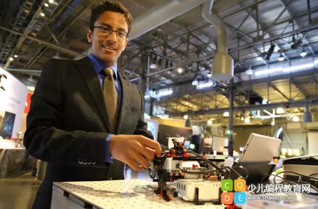 13岁少年编程打造出造福4500万人的发明,拿到了英特尔的投资!