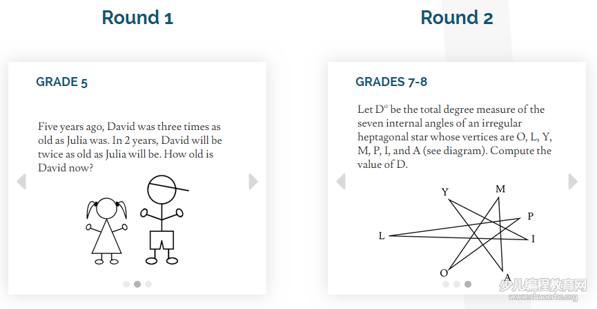 福利 | 美国IMC在线数学竞赛,一年一度免费测数学IQ!-少儿编程教育网