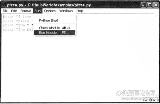 爸爸教我学Python编程-第3课-运行Python程序-少儿编程教育网