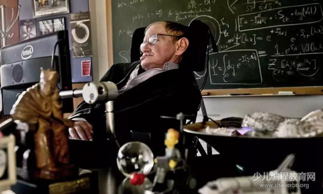 著名物理学家史蒂芬·霍金逝世,让我们看看他和宇宙的浪漫-少儿编程教育网