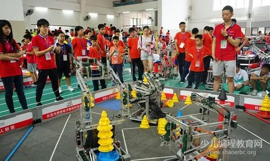 第18届省青少年机器人竞赛在广州市成功举行!-少儿编程教育网