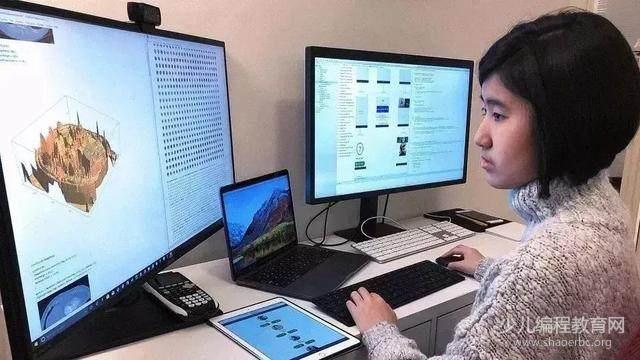 14岁华裔女孩为老年痴呆的奶奶编程开发APP,比尔盖茨为她点赞!-少儿编程教育网