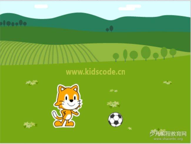 ScratchJR少儿编程启蒙教程:第四章:踢足球游戏