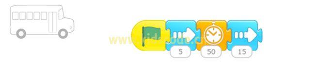 ScratchJR少儿编程启蒙教程:第三章:有序上车的故事-少儿编程教育网